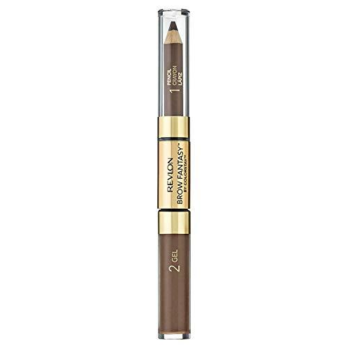Revlon Brow Fantasy Pencil & Gel by ColorStay, Light Brown (Revlon Medium Ash Blonde On Black Hair)