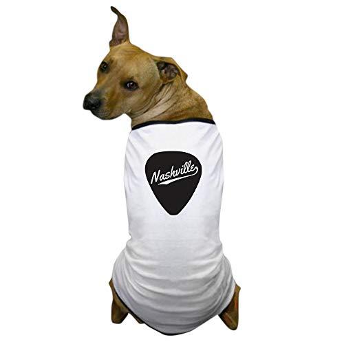 (CafePress Nashville Guitar Pick Dog T Shirt Dog T-Shirt, Pet Clothing, Funny Dog)