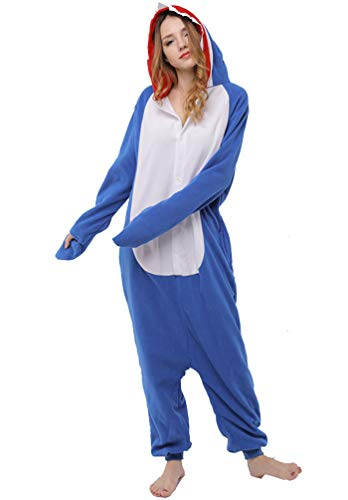 YUPENGDA Shark Kigurumi - Adult Costume Shark Unisex Adult -