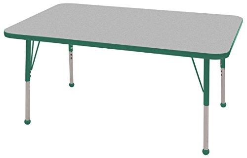 Rectangular Steel Activity Table - 4