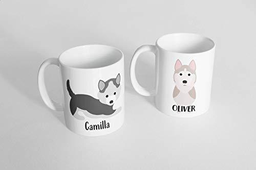 Olg Mug Husky Mug Custom Husky Mug Pet lover gift Pet Coffee Mug Custom pet Mug Pet Lover Mug Personalized Malamute Mug Dog Mug Siberian Husky