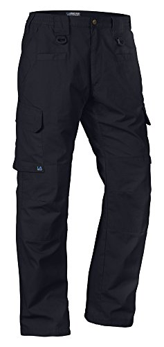 LA Police Gear Operator Tactical Pants with Elastic Waistband Navy 36 x 34 (Police Uniforms For Sale)