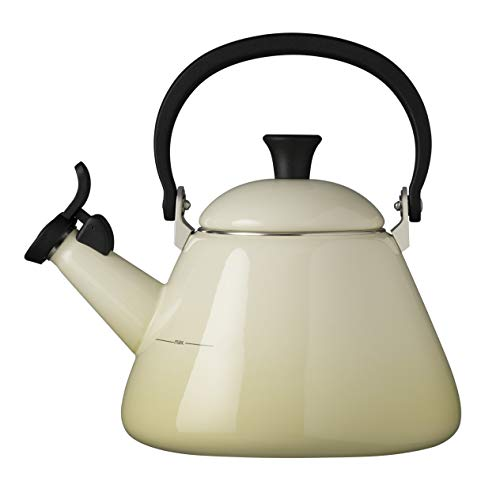 Kettle Almond - Le Creuset Kone Kettle with Whistle, 1.6 L - Almond