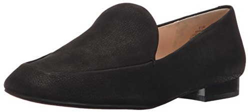 Nine West Frauen Xalan Leder Loafers Black