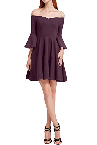 Ivydressing Partykleid Ausschnitt Linie Chiffon Damen Modern A Traube Festkleid Abendkleid Promkleid U Frw0Fq