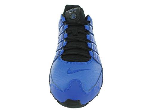 Nike Mens Shox Nz Sl Scarpe Da Corsa Iper Cobalto / Argento Metallizzato / Nero