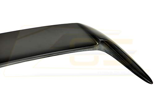 for 08-14 Subaru WRX /& STi Hatchback//Wagon Rear Fiberglass Add-On Extension Wing Spoiler Gurney Flap 2008 2009 2010 2011 2012 2013 2014 08 09 10 11 12 13 14