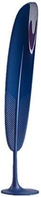 靴べら 家庭用フェザー垂直プラスチック靴べらは、妊娠中の女性のための適切な高齢者やすべての家族 シューホーン (Color : Blue, Size : 32.7x6.7cm)