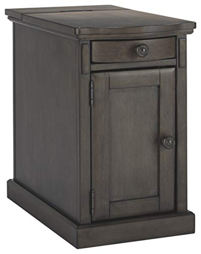 Signature Design by Ashley T127-485 Laflorn Chairside End Table, Gray ()