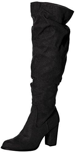 Black Fabric Stiefel Girl Madden Frauen fgBSqtfxO