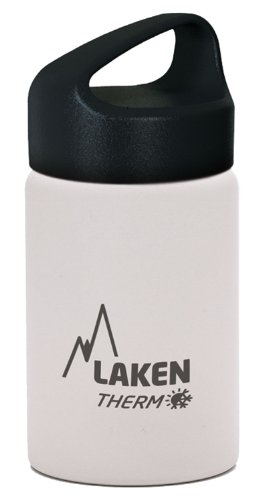 Laken 12oz Thermo Kids Bottle - Insulated Water Bottle (White)