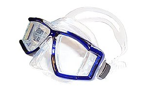 Genesis PanView Silicone Panoramic 4 window Scuba/Snorkeling