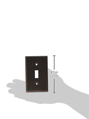 MINTCRAFT 881-35-07-SOU Switch Plate Single Venetian Bronze