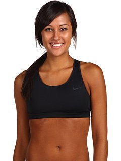 Nike Women's Victory Shape Bra - Black/ Black/ Cool Grey L (Shape Victory)
