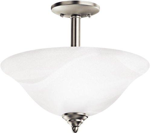 Kichler 3694NIW Armida Pendant/Semi-Flush 2-Light, Brushed Nickel