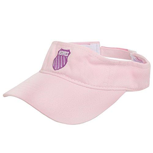 K Swiss Unisex Bigshot Tennis Visor Hat - Pink K-swiss Accessories