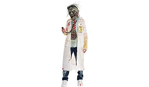 Part Vision Zombie Doctor Costume for Boys, Small, with Included Accessories, by Amscan