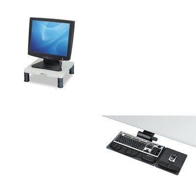 kitfel8036001fel91712 – Valueキット – プレミア調節可能なキーボードトレイFellowes Professional ( fel8036001 )とFellowes height-adjust標準モニターライザー( fel91712 )   B00MOOVOYG