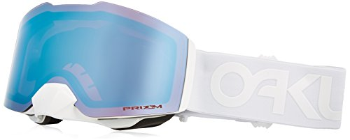 Oakley Fall Line Asian Fit Snow Goggles, Factory Pilot Whiteout Frame, Prizm Sapphire Iridium Lens, Medium (Best Ski Goggles For Whiteout Conditions)