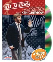 Championship Productions Ken Chertow: All Access Gold Medal Wrestling Camp DVD by Championship Productions