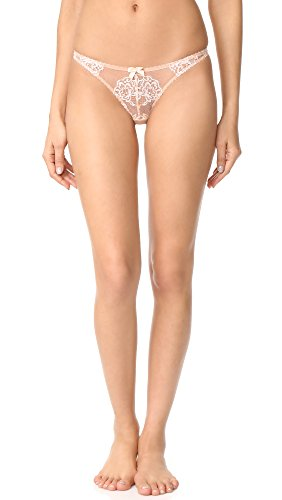 L'Agent by Agent Provocateur Women's Angelica Thong, Nude/Ivory, Small