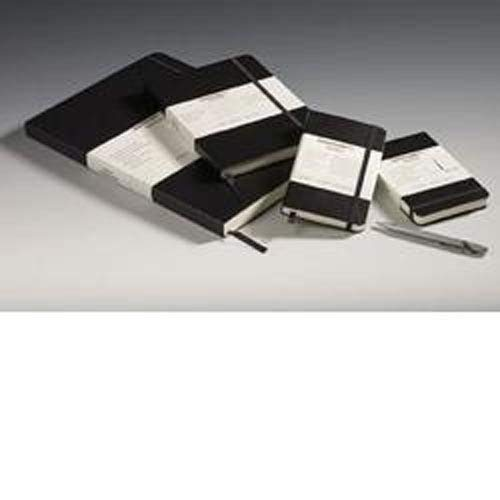 Leuchtturm Hardcover Medium A5 Ruled Notebook [Black] - Set of 2
