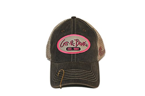 47cccea287c Larry the Cable Guy Official Gear Git-R-Done Tour Hat (Pink) With Fish Hook  Clasp