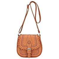 Fashion Brown Shoulder Bag For Women Hollow Woven Crossbody Bag Summer Style Ladies HandBag