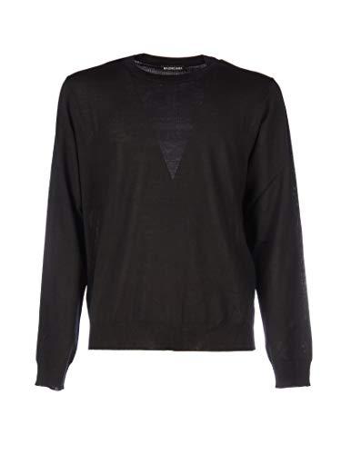 Balenciaga Luxury Fashion Mens 583117T14394170 Black Sweater | Fall Winter 19