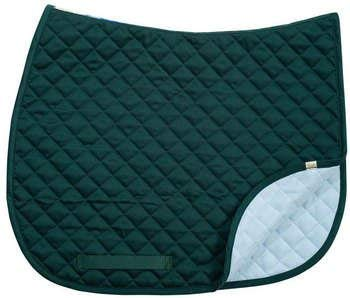 Lettia CoolMax Baby Saddle Pads All Purpose with Wither Relief Hunter Green ()