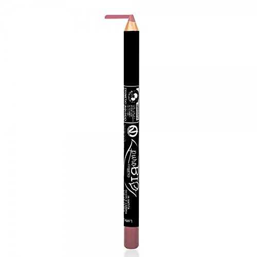 PUROBIO - Lip / Eye Pencil - 08 Pink Mauve - Organic, Nickel Tested, made in Italy (Finish Acid Verde)