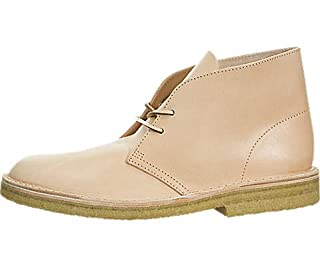 CLARKS Men's Vegetable Tan Leather Desert Boots, Natural, 8 D(M) US (B01I49B4ZI) | Amazon price tracker / tracking, Amazon price history charts, Amazon price watches, Amazon price drop alerts
