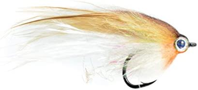 Low Fat Minnow Bass Fly By Fulling Mill NEW FREE SHIPPING Bluegill #1//0