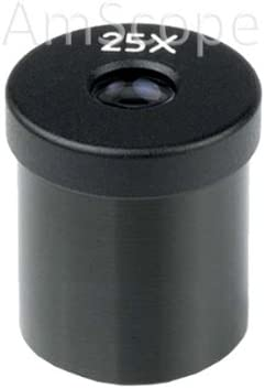 AmScope One 25X Microscope Eyepiece 23mm