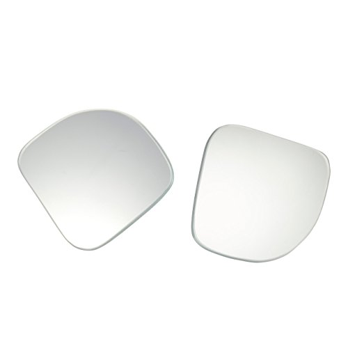 Juvale 2-Pack Blind Spot Mirrors for Cars - Wide Angle Blind Side Car Mirrors, Stick-on, Adjustable Design, 2.5 x 2 x 0.25 Inches