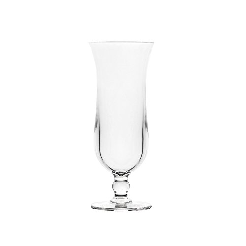 Blazun PS-A26 Unbreakable Polycarbonate Hurricane Cocktail Barware (Set of 6), 13.5 oz, Clear For Sale