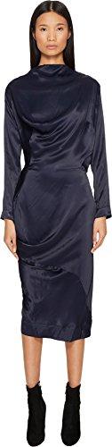 (Vivienne Westwood Women's New Fond Dress Navy 42)