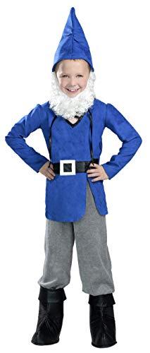 Boy Garden Gnome Costume, Medium, One