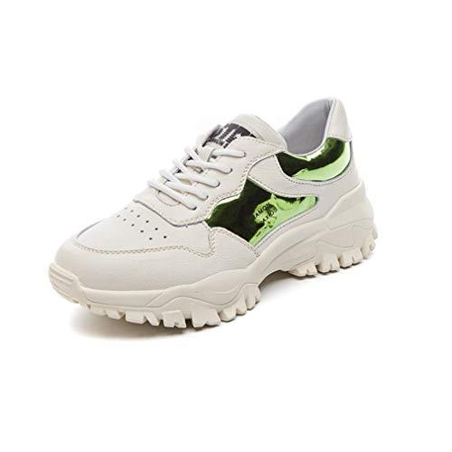 Shoes Pelle Spring Da Sneakers Outdoor Con Fall Lacci Yan YRqwX0O0