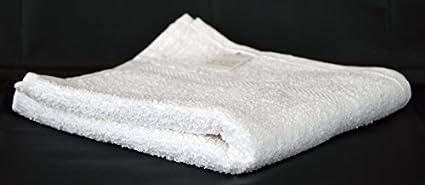 Presupuesto/barato blanco 100% algodón 320 GSM juego de toallas de mano de la