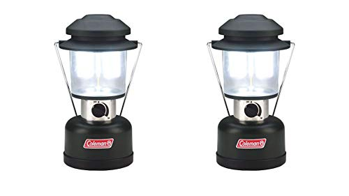 Coleman 390 Lumen Twin LED 8D Battery Lantern-2 ()