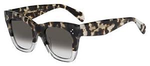 Celine VN0 Havana / Grey Catherine Wayfarer Sunglasses Lens Category 3