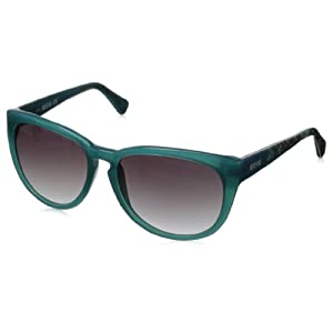 Kenneth Cole REACTION Women's KC2730 Round Sunglasses,Turquoise,56 mm