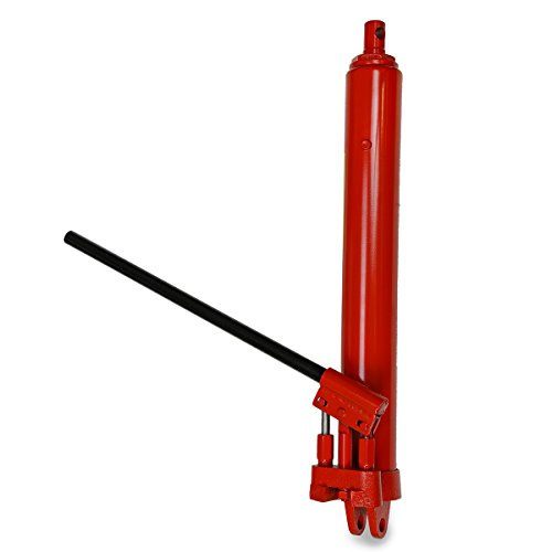 8 Ton Long Ram Hydraulic Manual Engine Hoist Cherry