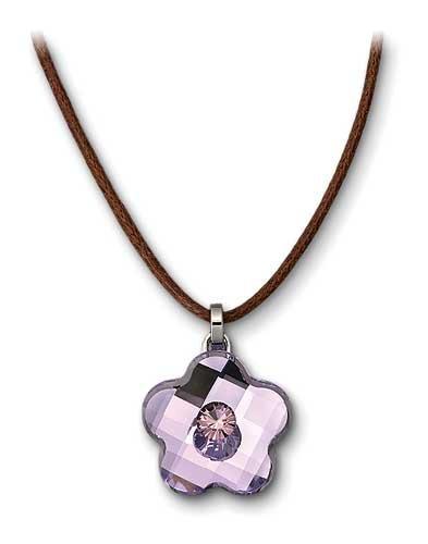 Swarovski Violet Blosson Mini Pendant - Pendant Mini Blossom