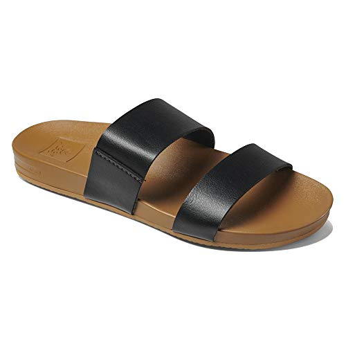 Reef Cushion Bounce Vista Womens Sandal Black-Natural 7
