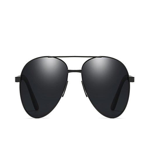 Soleil pour LUHUIYUAN Reflets Hommes Black De UV Anti Anti Polarisées Lunettes EpSUwHq7