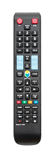 New BN59-01178W Replacement Remote Control fits for SAMSUNG TV UN28H4500AF UN32H5201AF UN32H5203AF UN40H5201AF UN40H5203AF UN40H6203AF UN46H6201AF UN46H6203AF UN50H6201AF