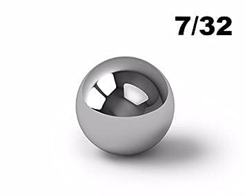 7//32 Inch Chrome Steel Ball Bearings G25-25 Balls