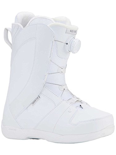 Ride White Snowboard Boots (Ride Sage 2018 Snowboard Boots - Women's White 7.5)